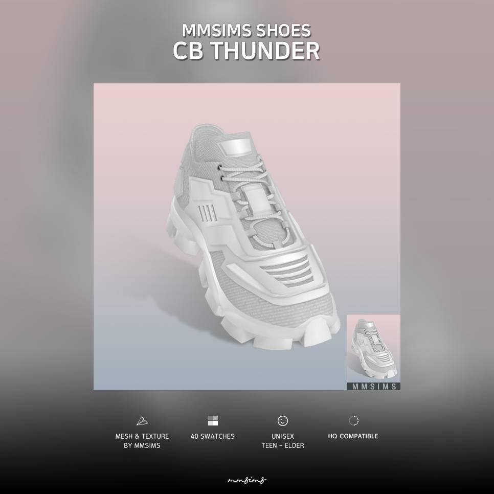 Кроссовки - CB Thunder Sneakers