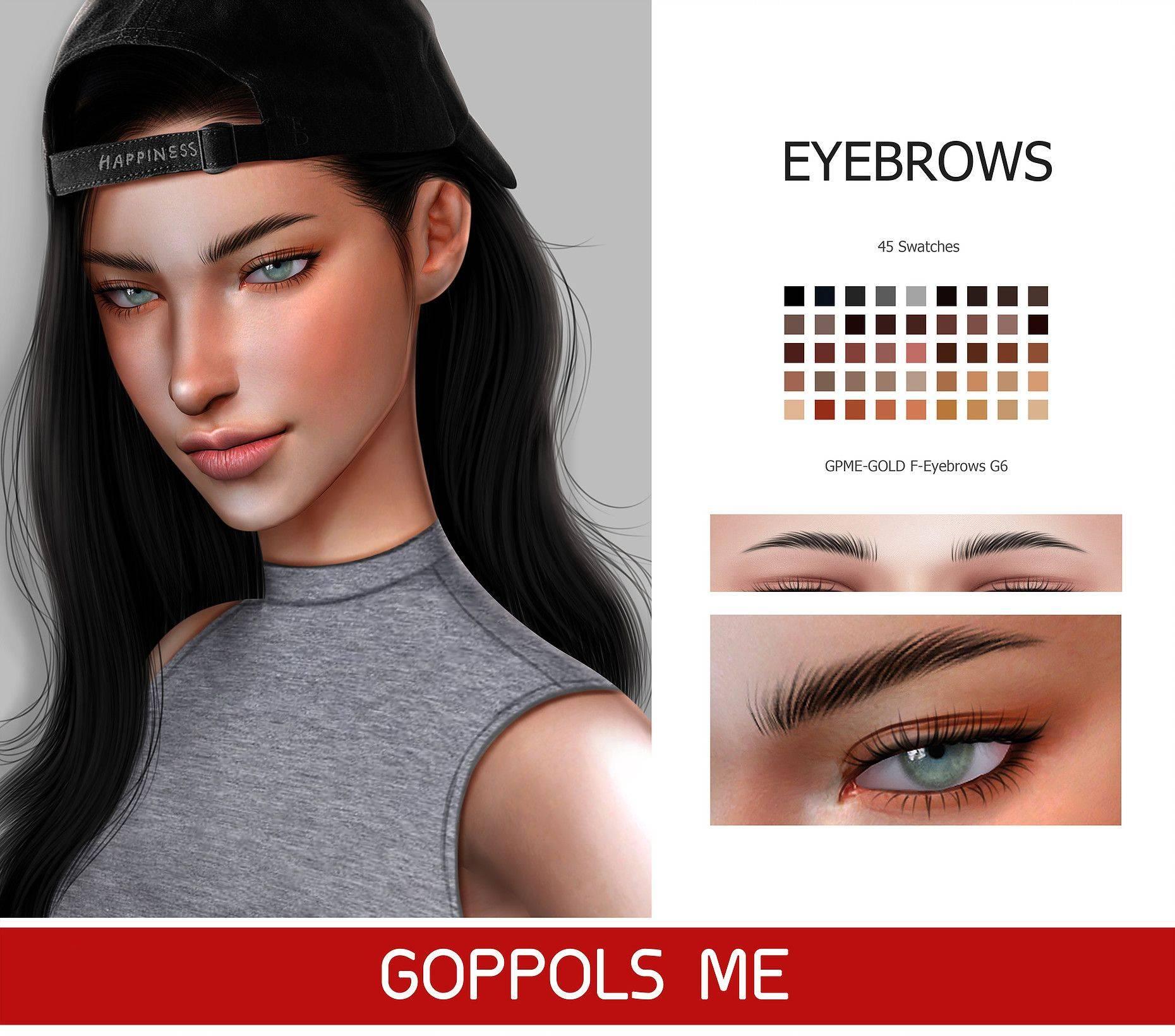 Брови - Eyebrows G6 2