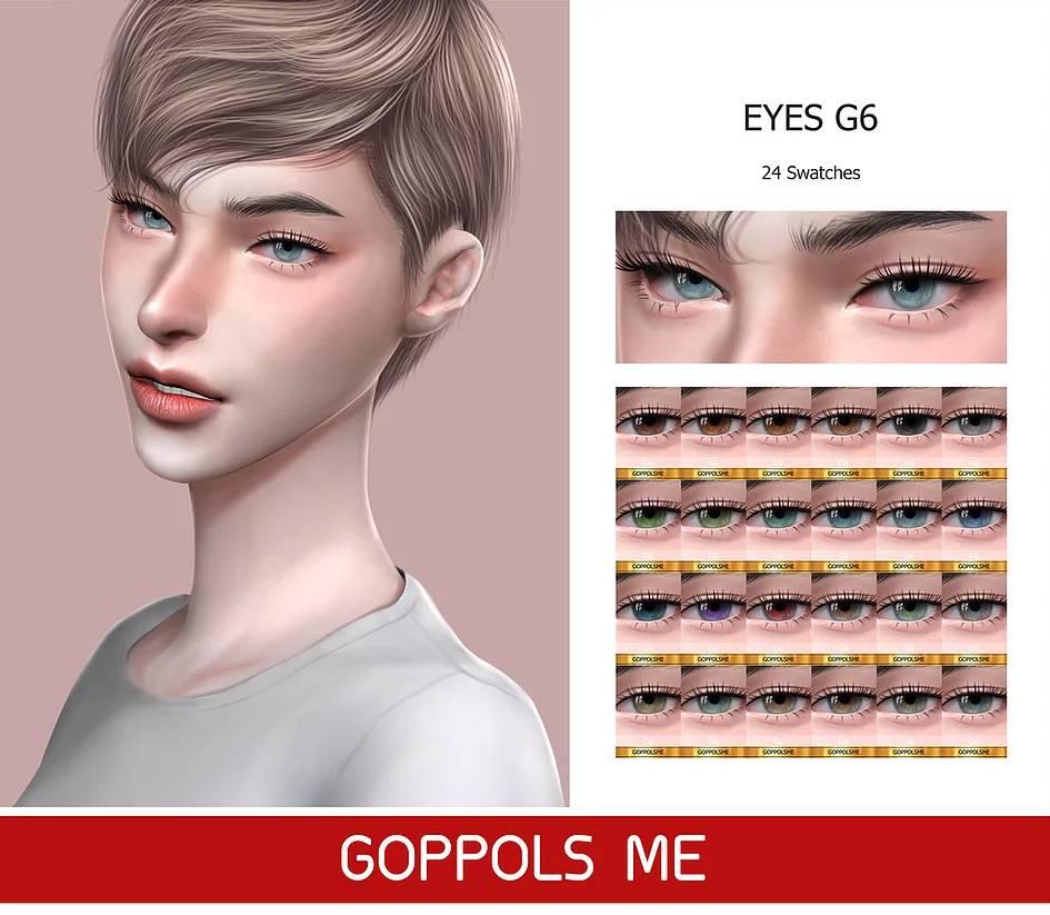 Линзы - Eyes G6