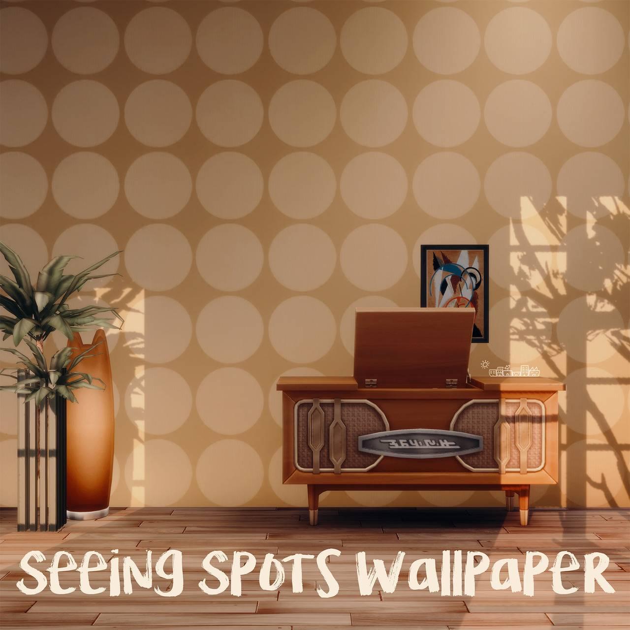 Обои - SEEING SPOTS WALLPAPER