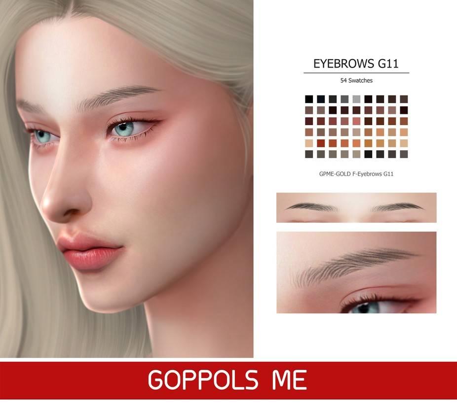Брови - Eyebrows G11