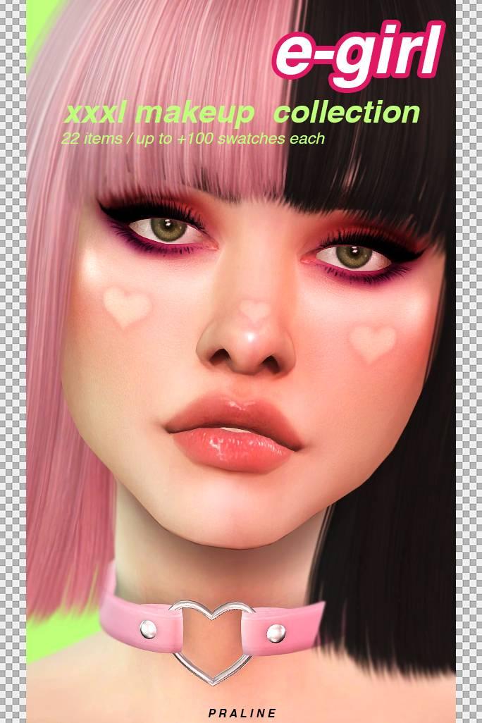 Набор косметики - E-GIRL XXXL Makeup Collection