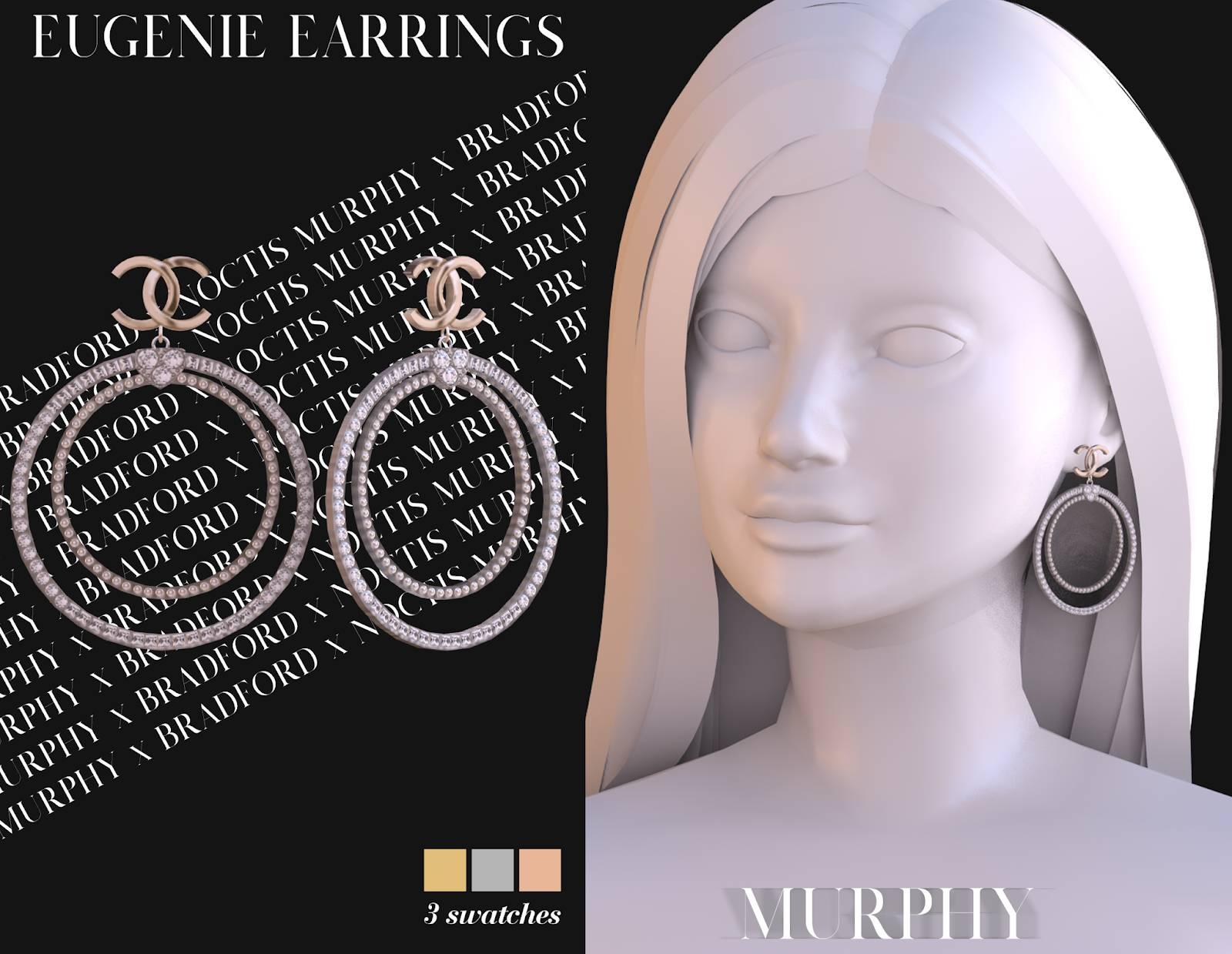 Серьги - EUGENIE EARRINGS