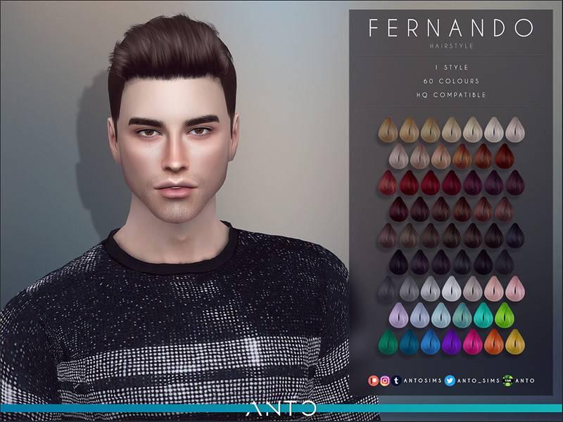 Мужская прическа - Fernando