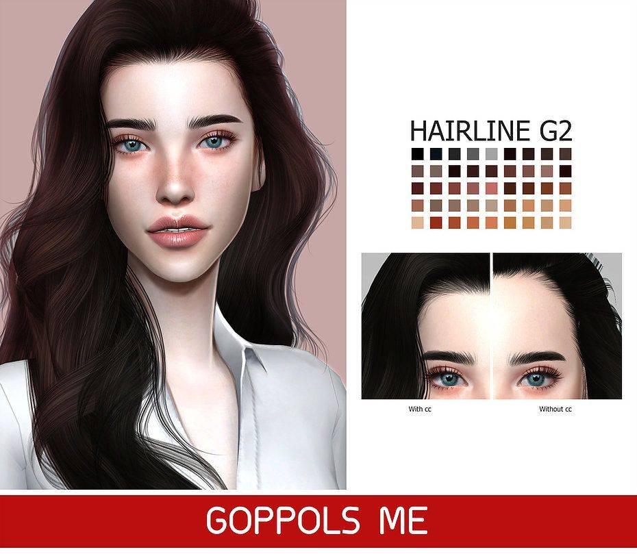 Линия волос - Hairline G2