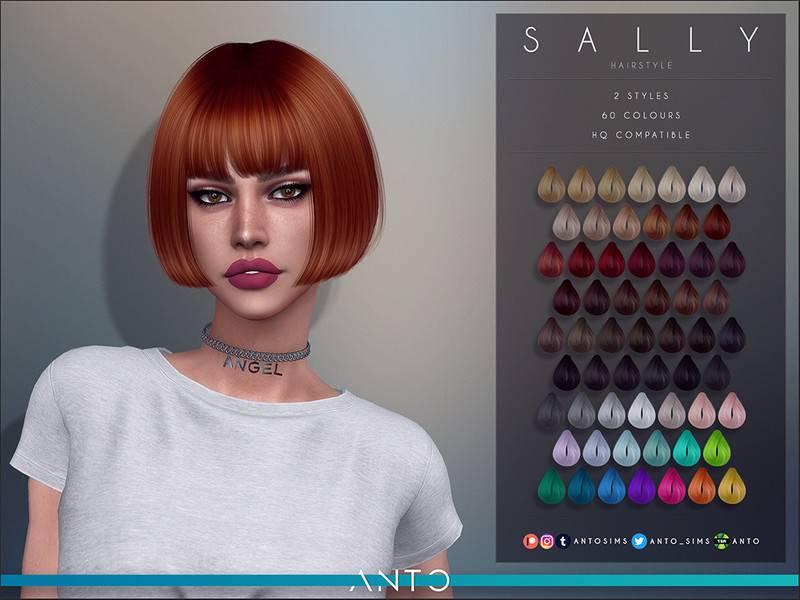 Женская прическа - Sally