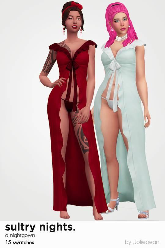 Комплект для сна - Sultry Nights nightgown
