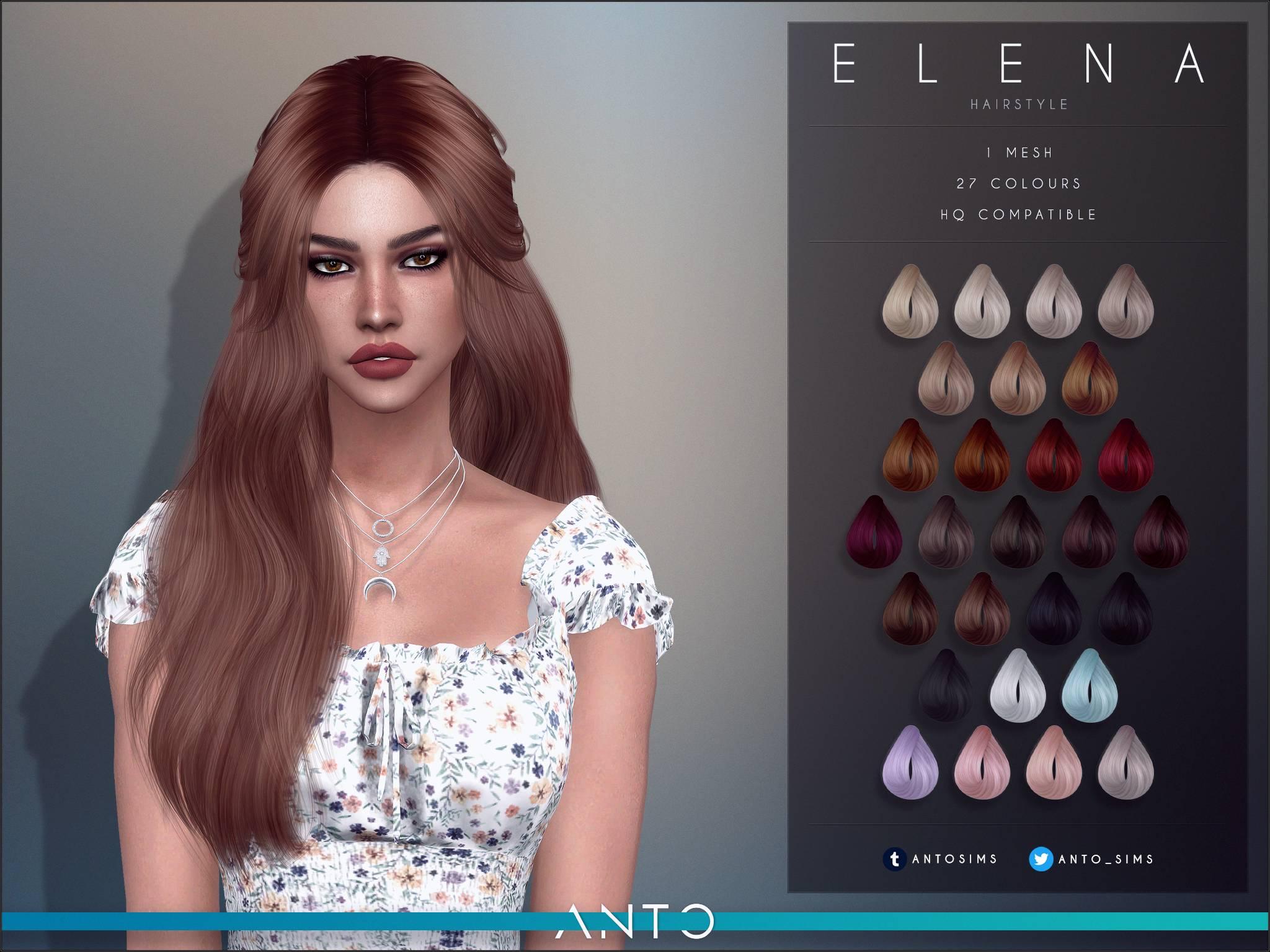 Прическа для женщин, девочек и малышек - Elena
