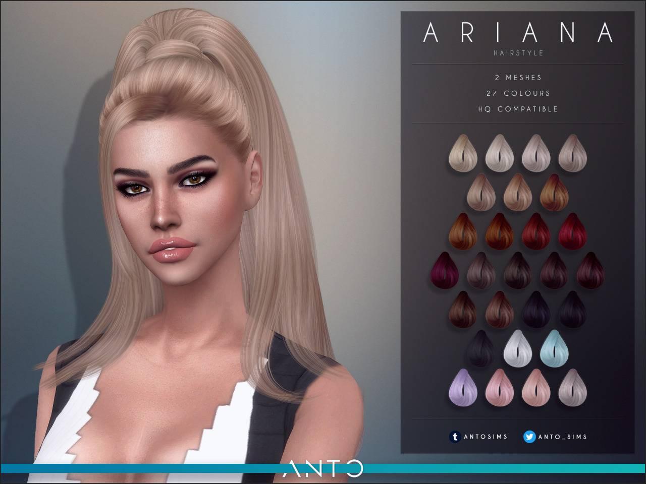 Женская прическа - Ariana