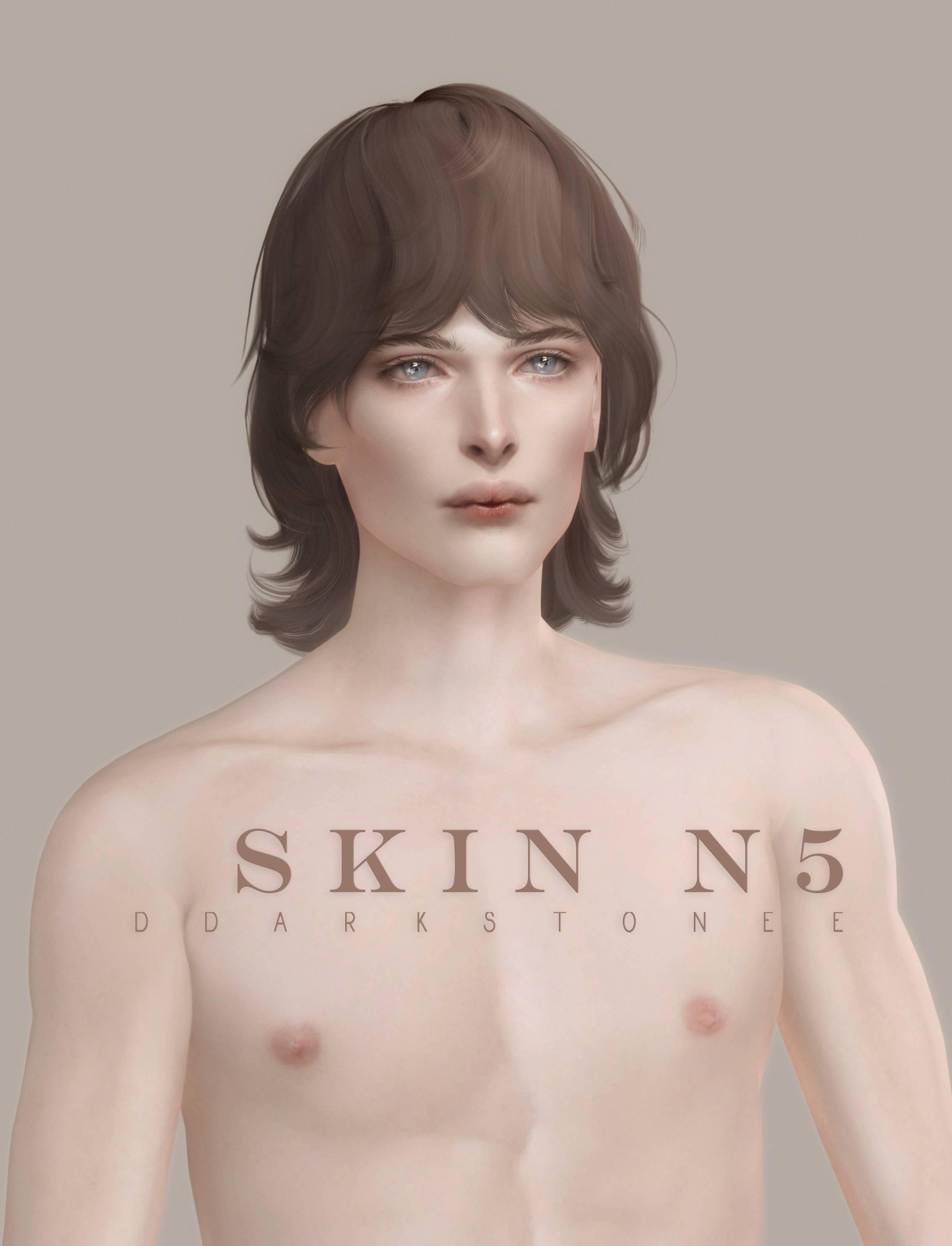 Скин и пресеты - Male Skin and Face Presets