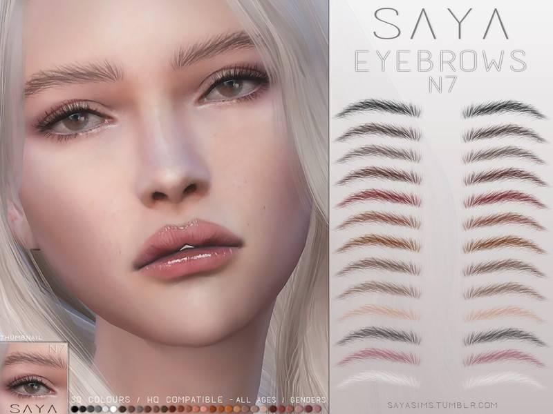 Брови - Eyebrows N7