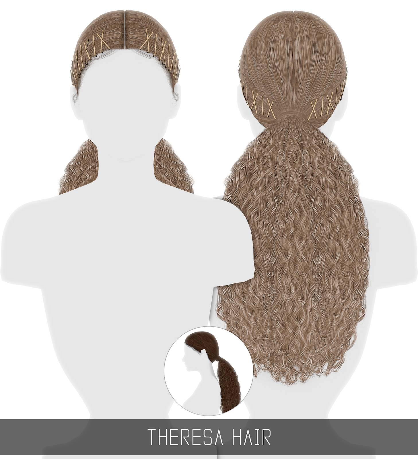 Женская прическа - THERESA HAIR