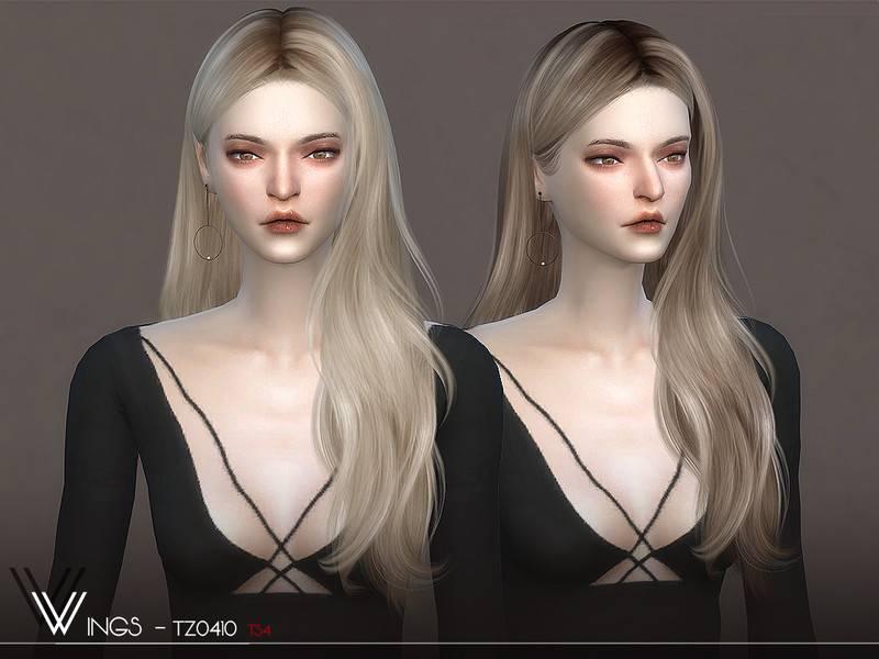 Женская прическа - WINGS-TZ0410