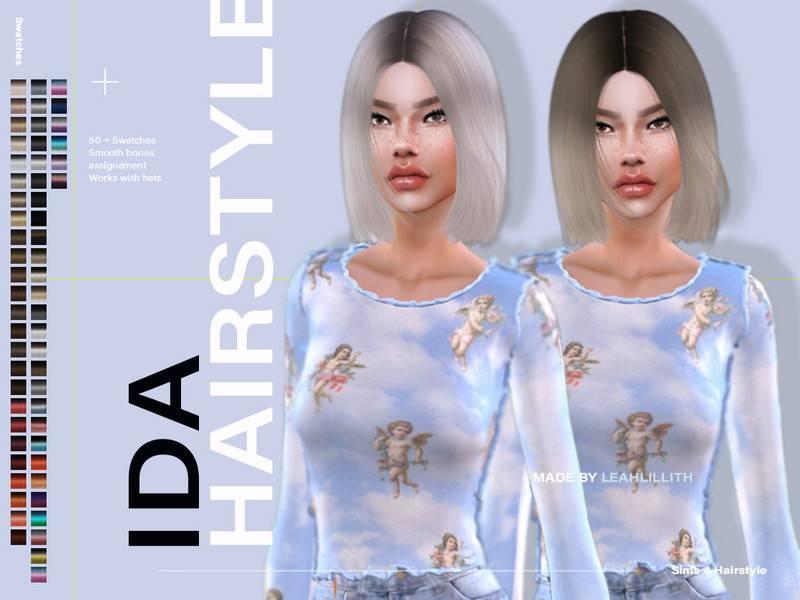 Прическа - Ida Hairstyle