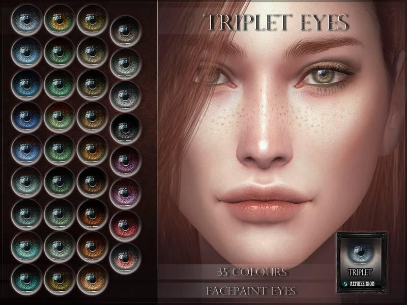 Линзы - Triplet Eyes