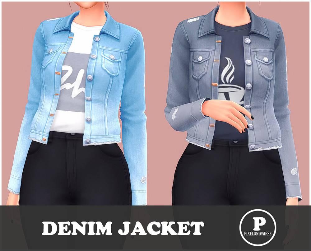 Куртка и топ - Denim Jacket
