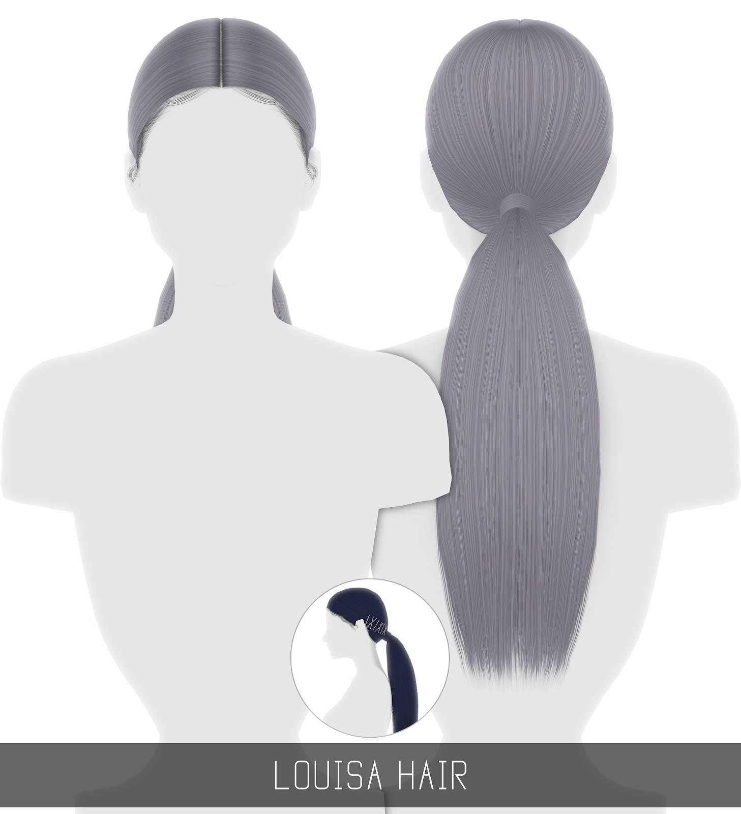 Женская прическа - LOUISA HAIR
