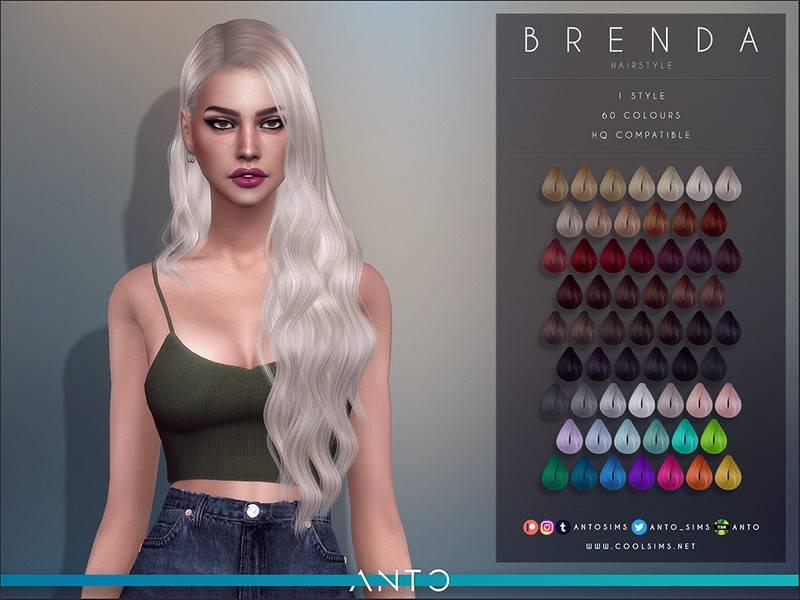 Женская прическа - Brenda