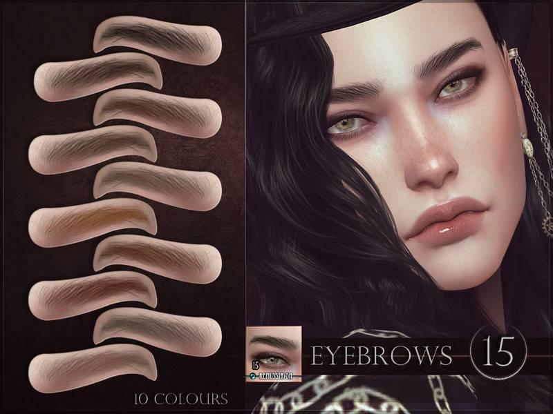 Брови - Eyebrows 15