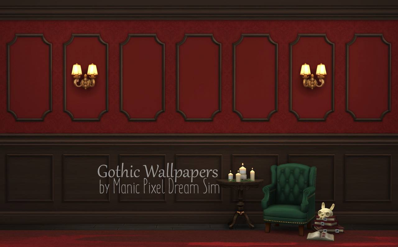 Набор настенных покрытий - Gothic Wallpapers Mix and Match set
