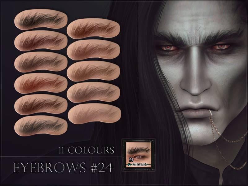 Брови - Eyebrows 24