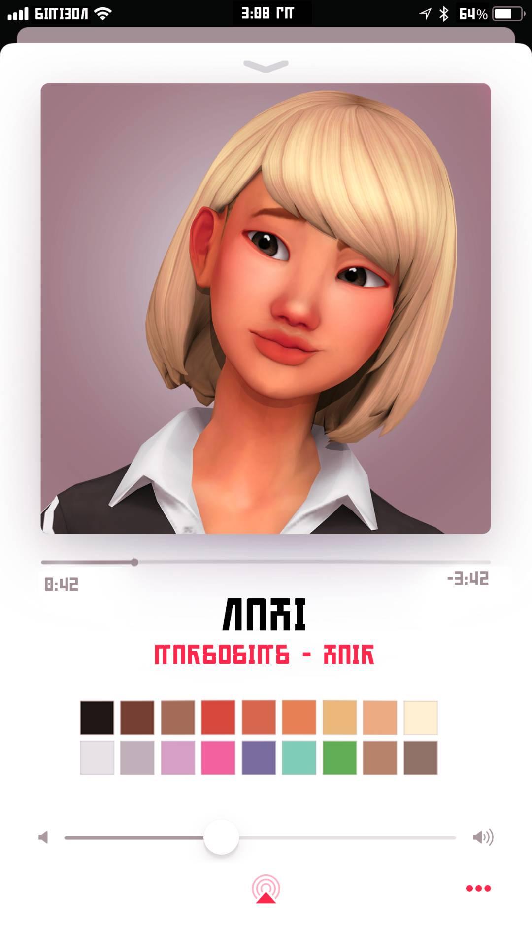 Женская прическа - NAHI HAIR