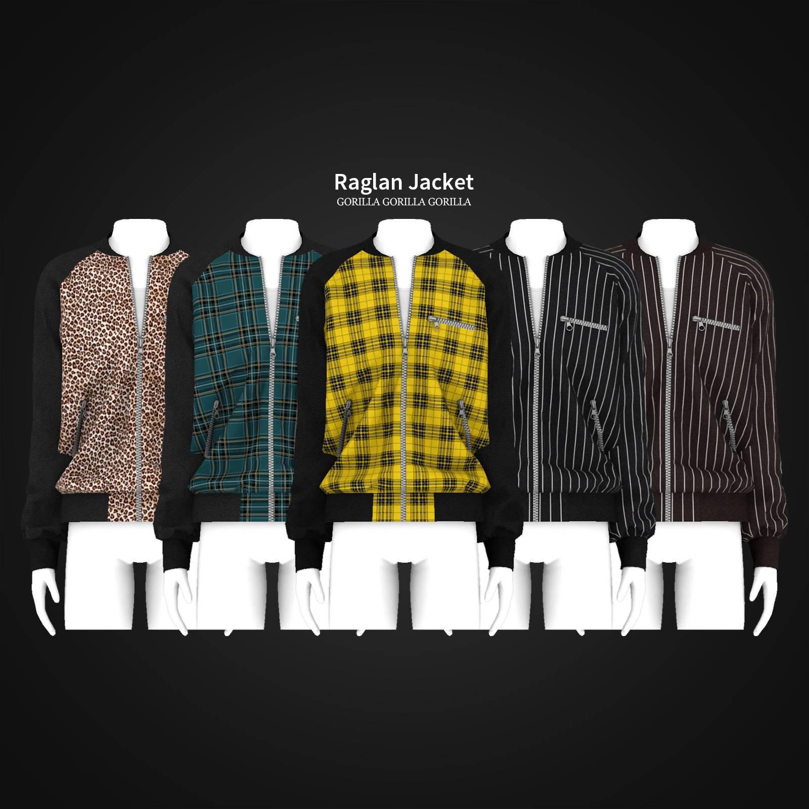 Бомбер - Raglan Jacket
