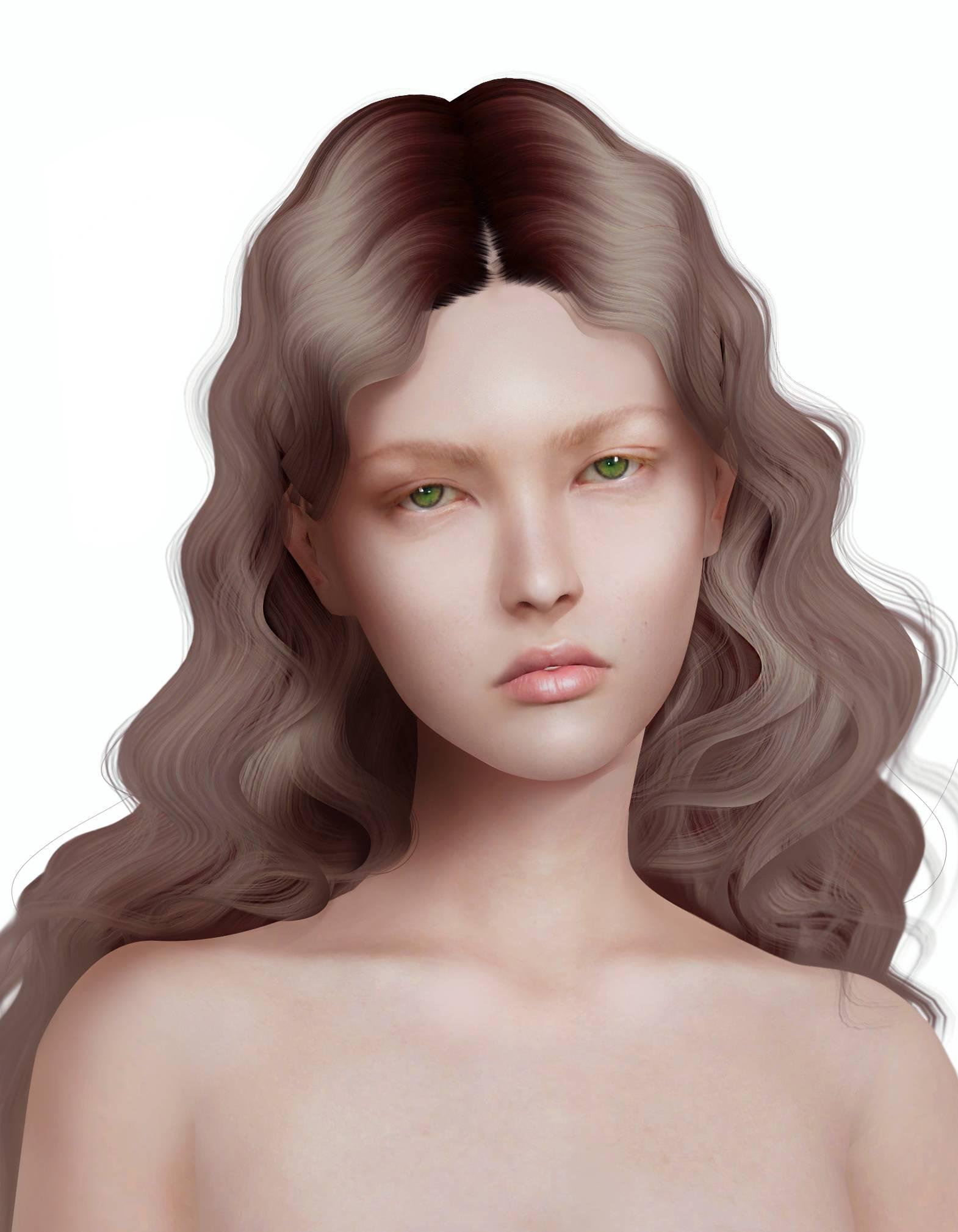 Женский скинтон - UNFOLD Female Skin
