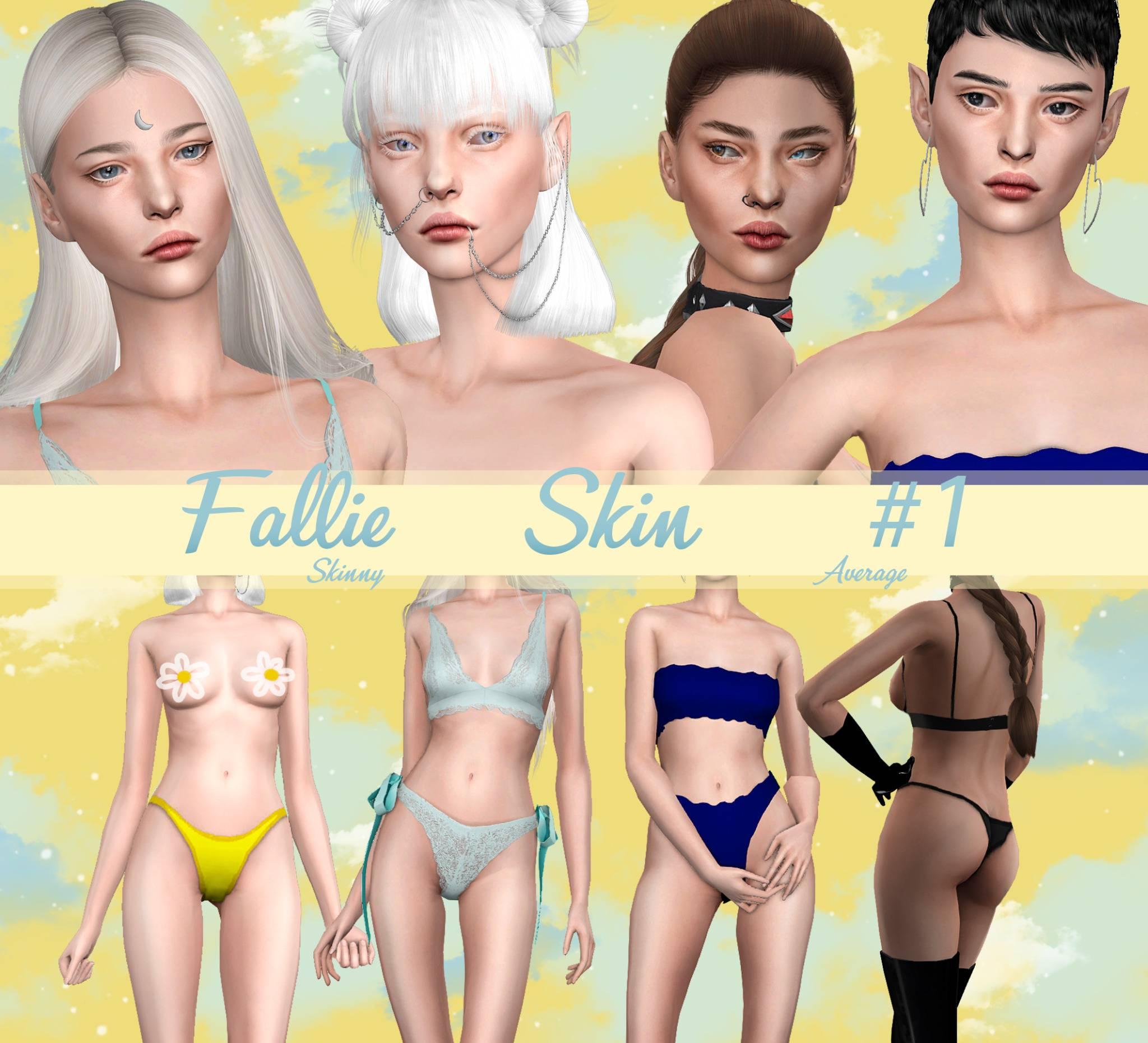 Женский скинтон - Skin1