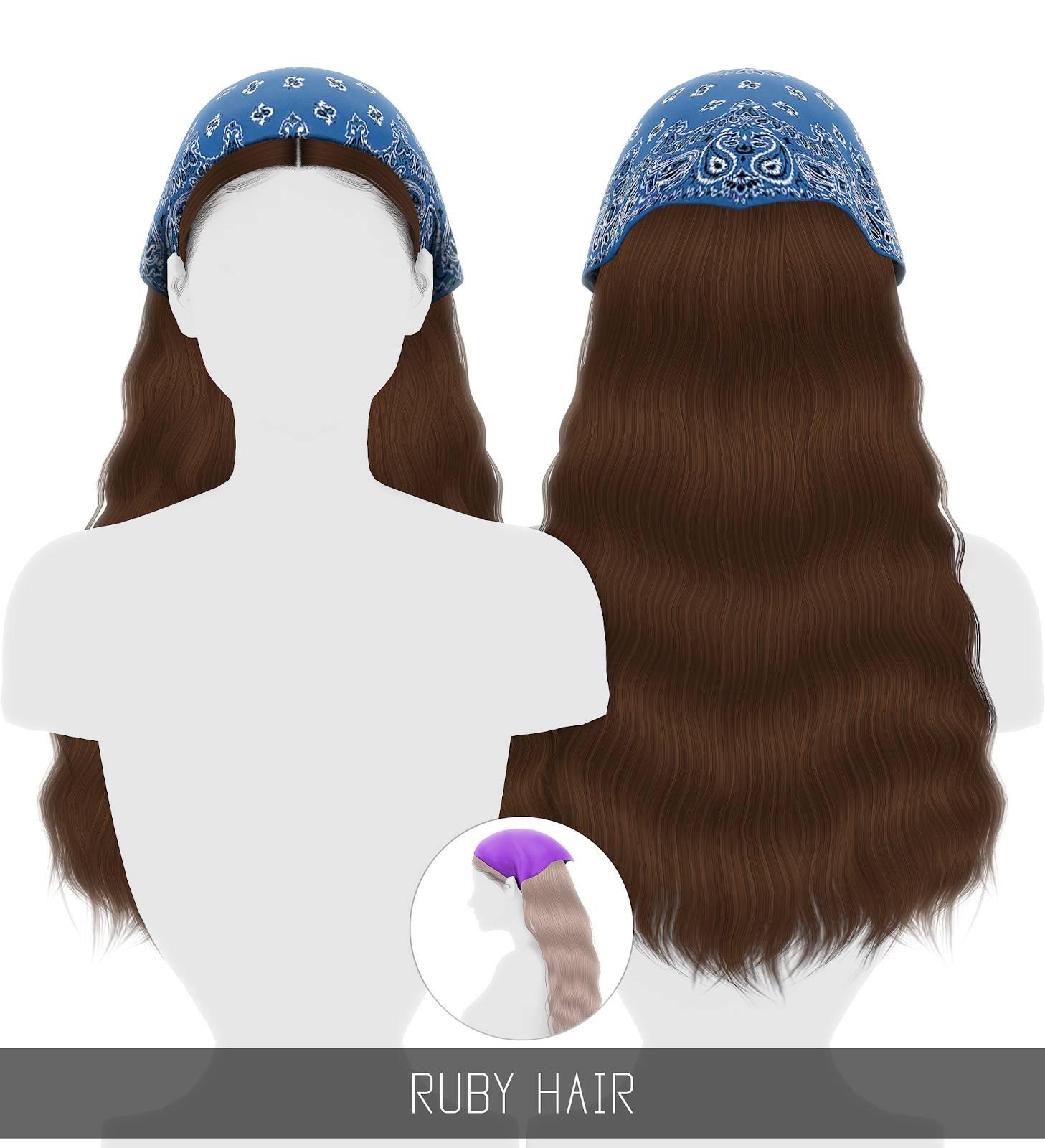 Женская прическа - RUBY HAIR
