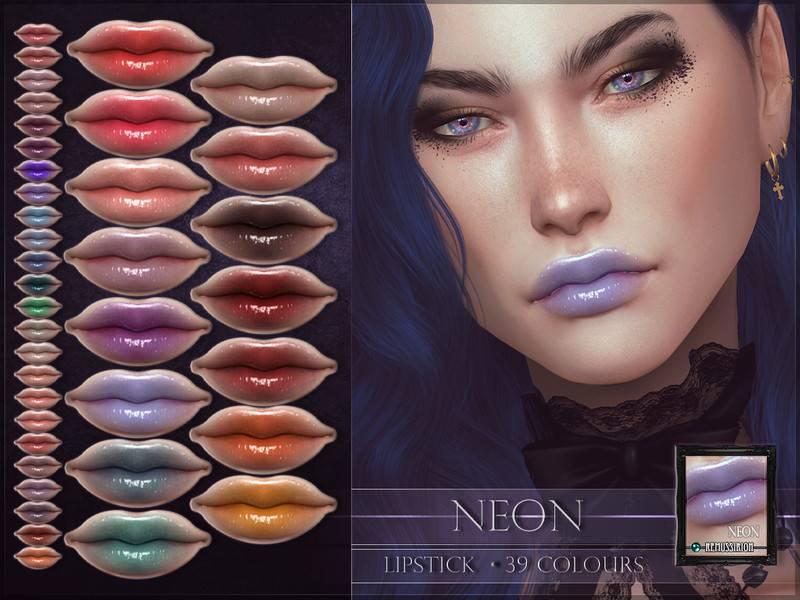 Блеск для губ - Neon Lipstick