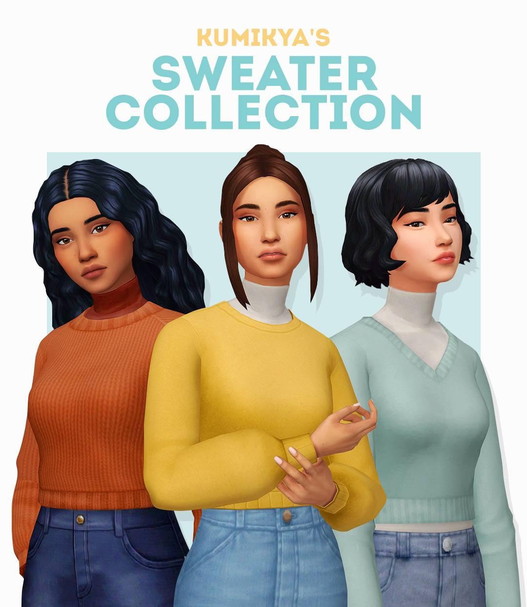 Набор женской одежды - SWEATER COLLECTION