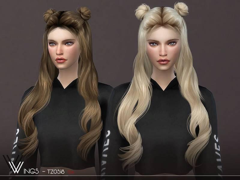 Женская прическа - WINGS-TZ0518