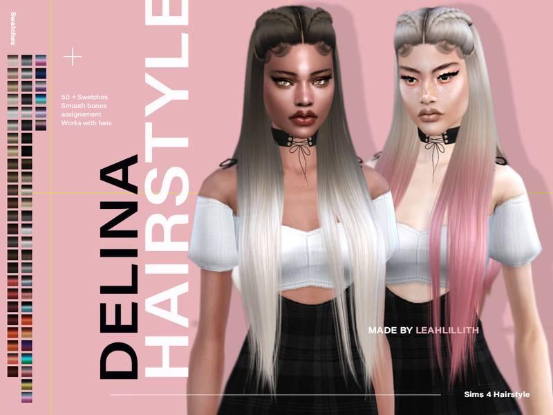 Прическа - Delina Hairstyle