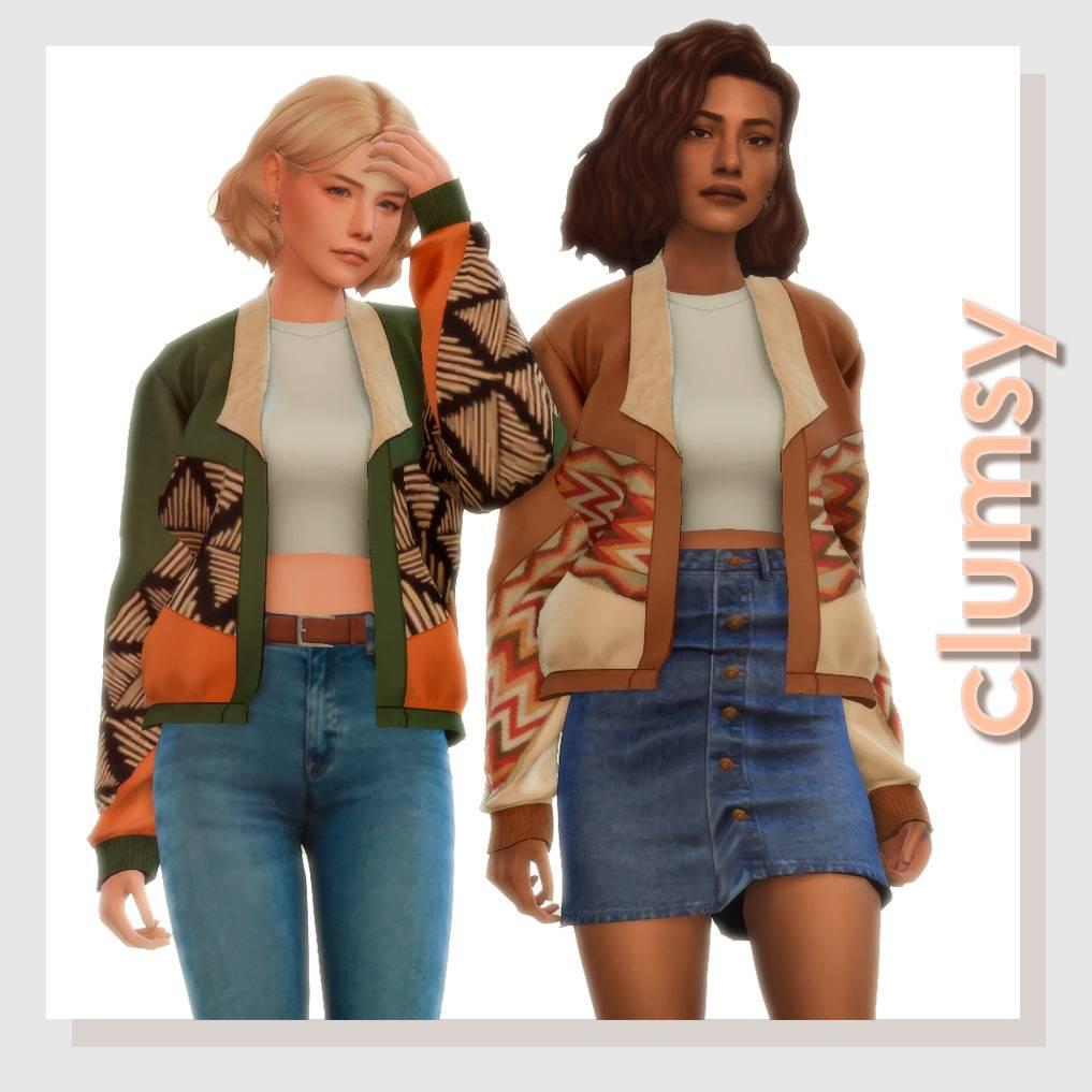 Куртка и топ - CLUMSY JACKET