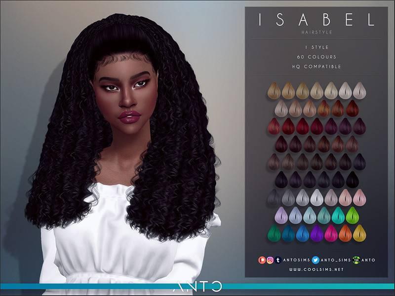 Женская прическа - Isabel