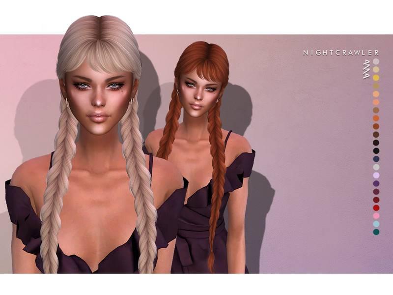 Женская прическа - Anna