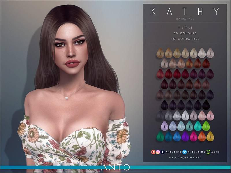 Женская прическа - Kathy