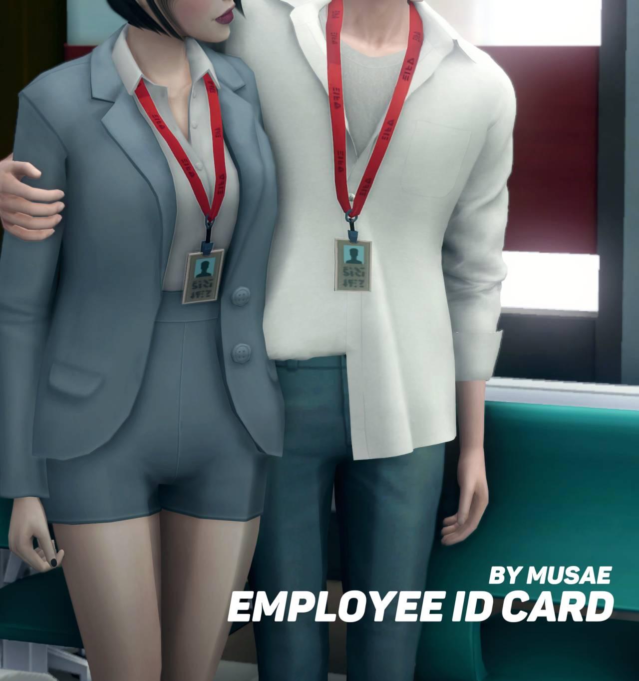 Удостоверение личности - Employee ID card
