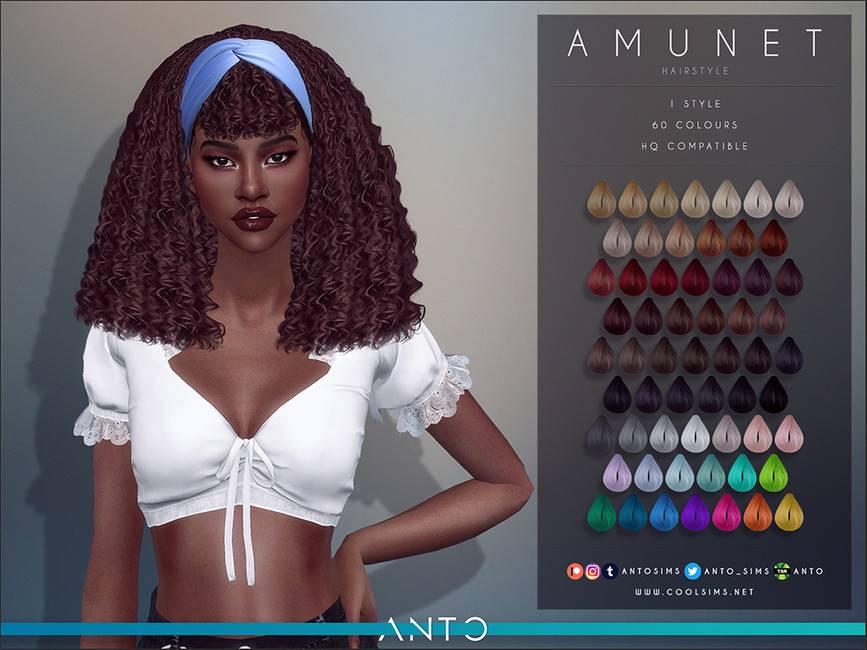 Женская прическа - Amunet