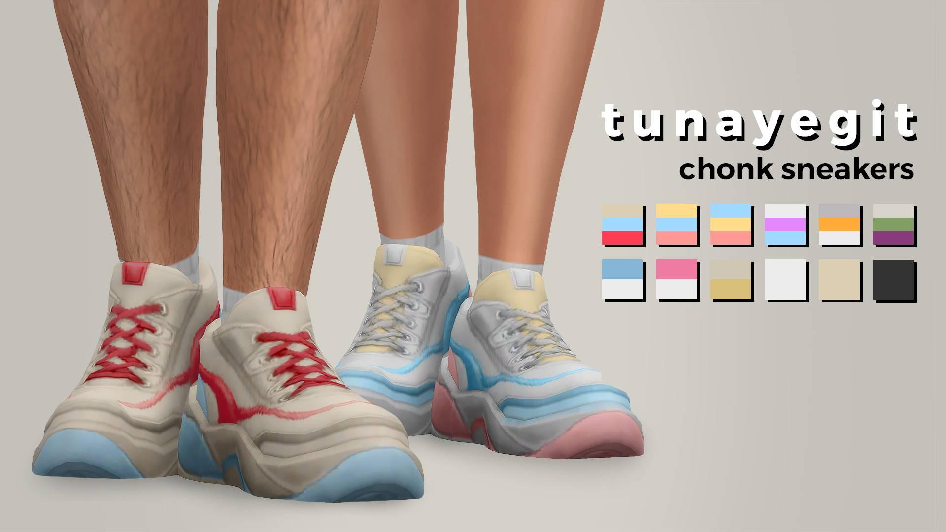 Кроссовки - chonk sneakers