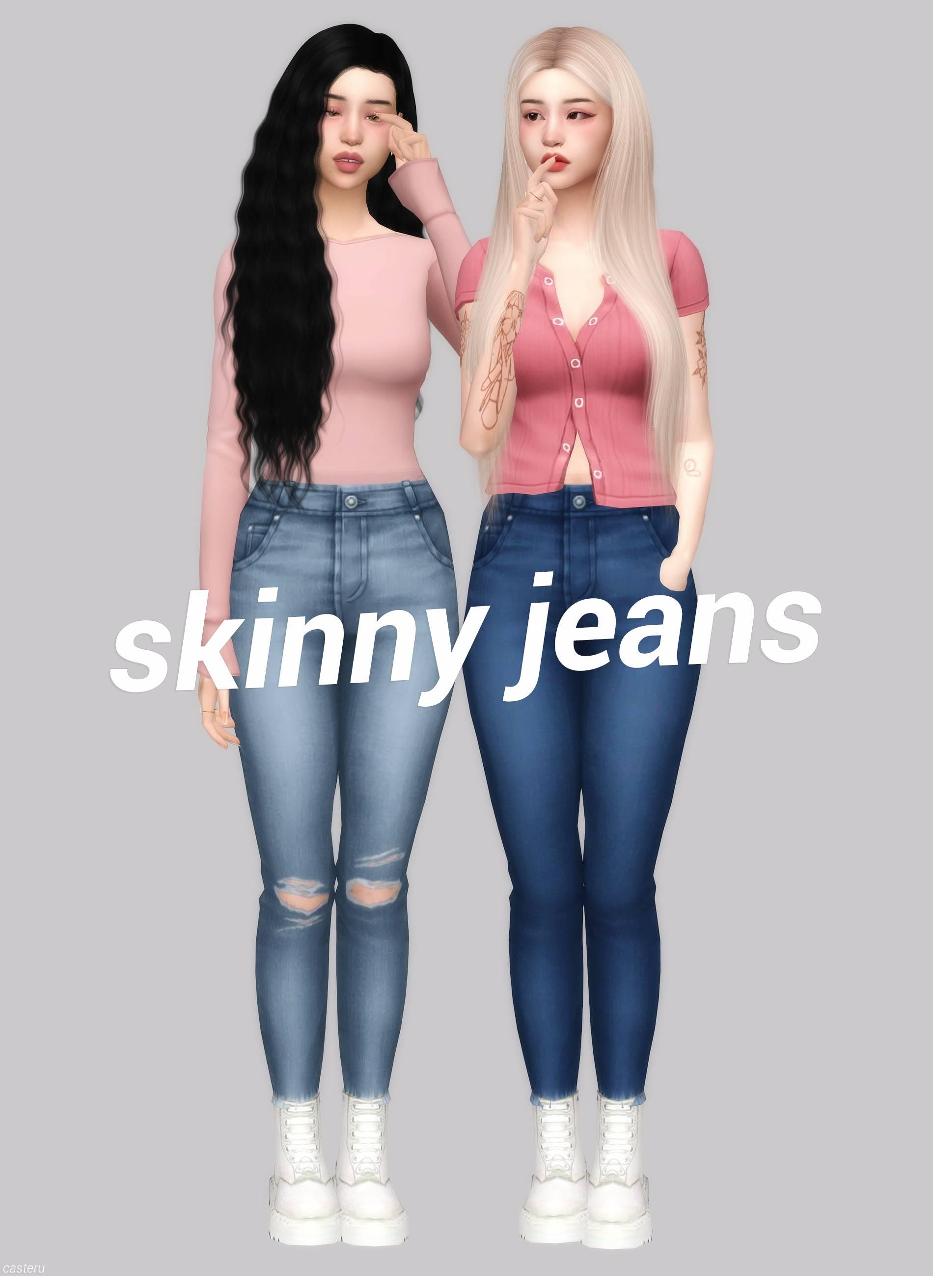 Джинсы - skinny jeans casteru