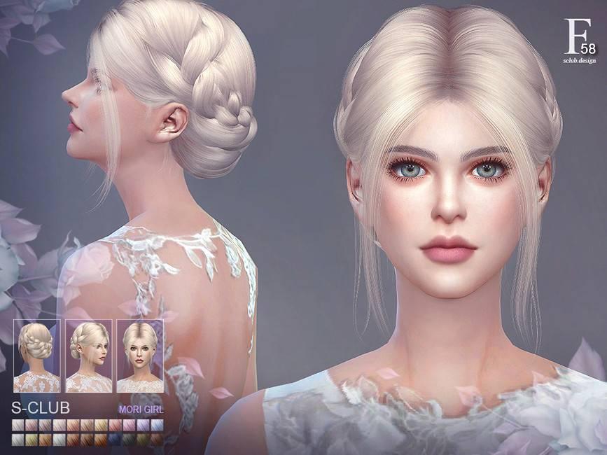 Женская прическа - hair_n58_Audrey