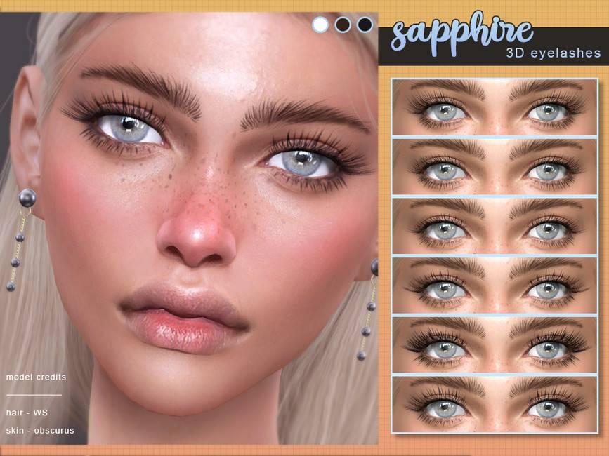 Ресницы - Sapphire