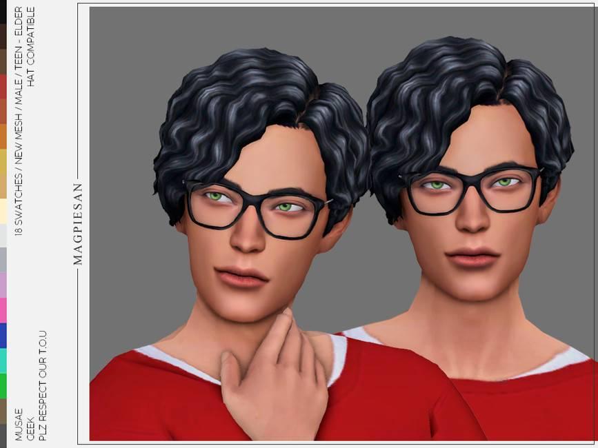 Мужская прическа - Geek Hair