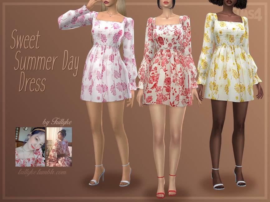 Платье - Sweet Summer Day Dress