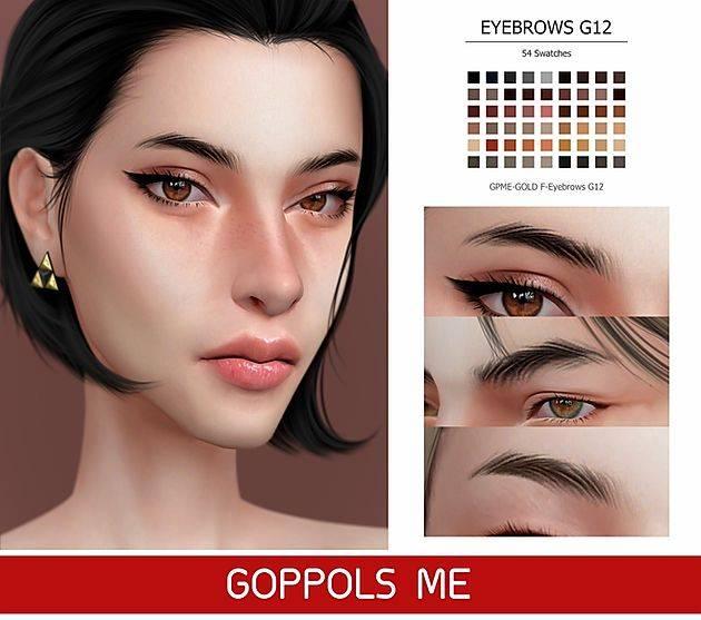 Брови - Eyebrows G12