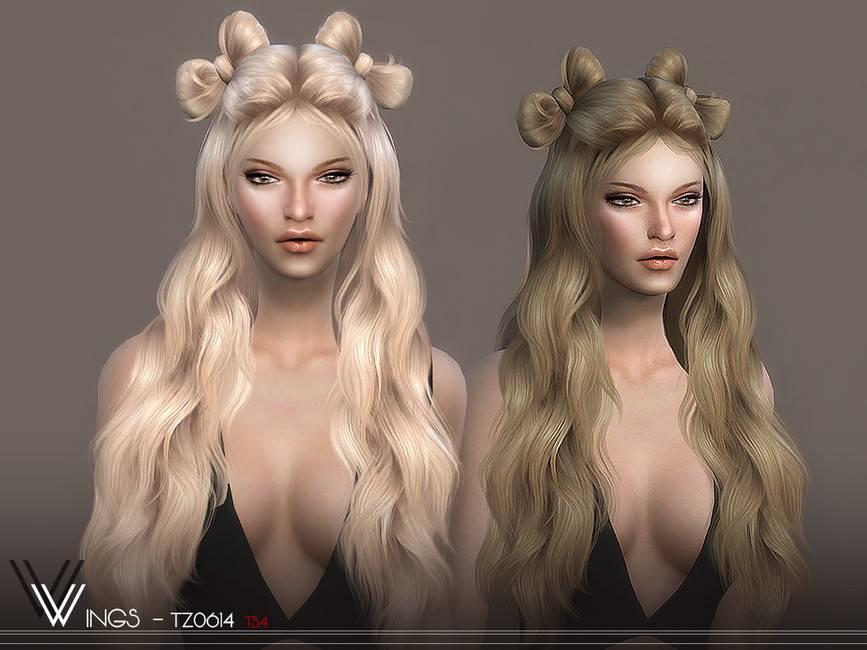 Женская прическа - WINGS-TZ0614