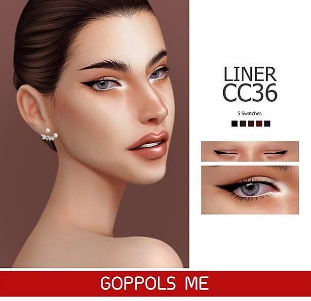 Подводка для глаз - Liner cc36