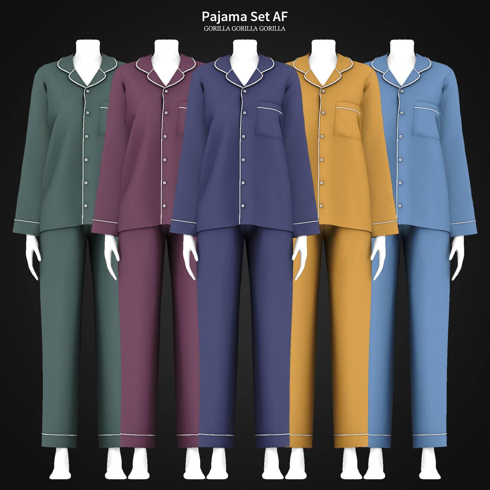 Пижама - Pajama Set AF